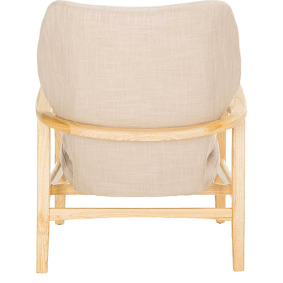 Tatiana Accent Chair Beige/Natural