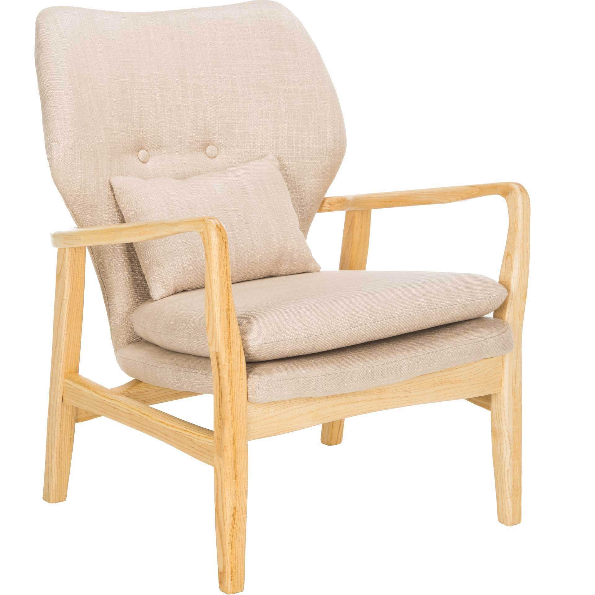 Tarly Accent Chair Beige/Natural