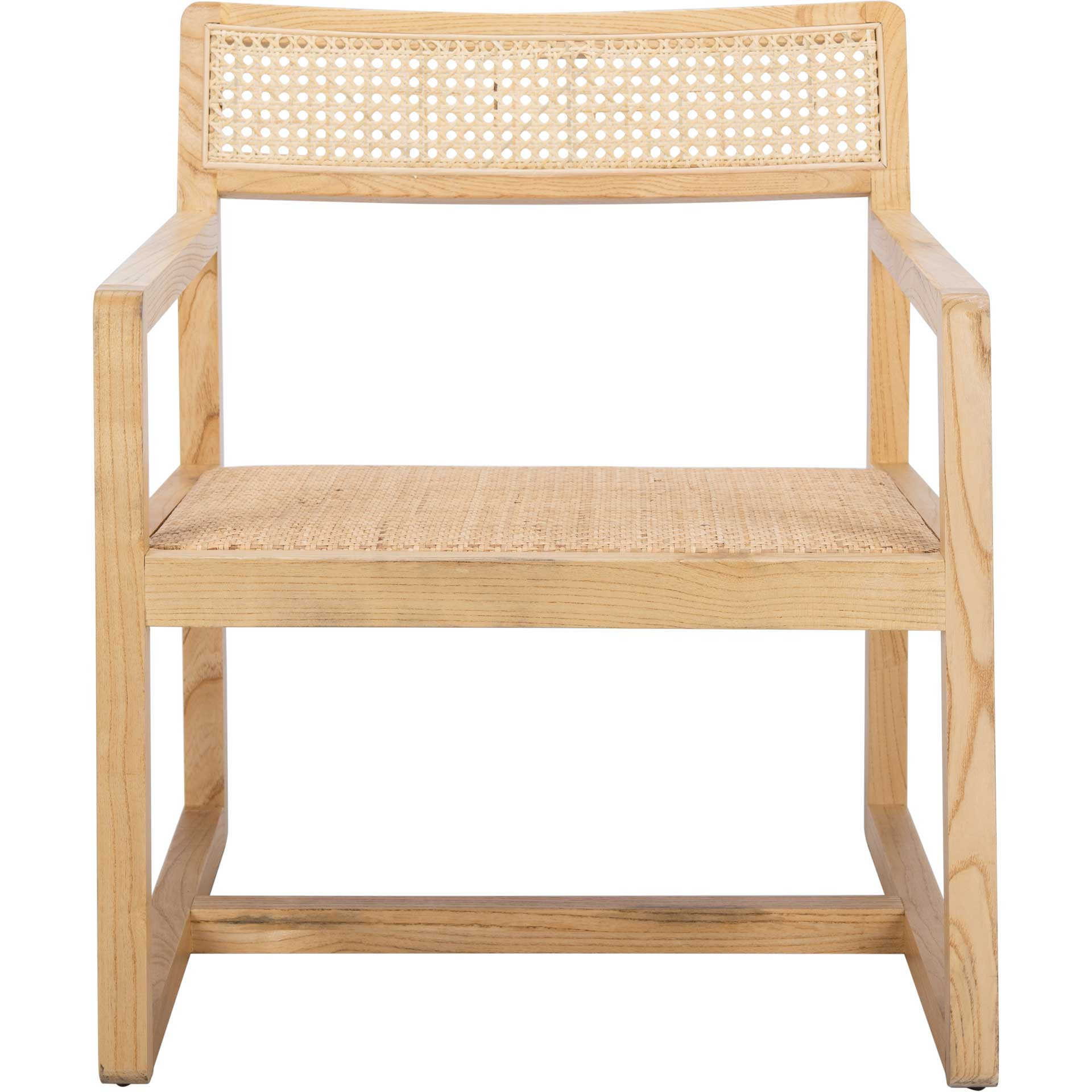 Lucy Cane Accent Chair Natural