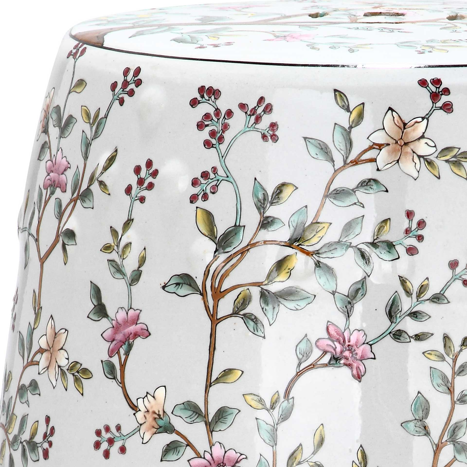 Blooming Tree Garden Stool