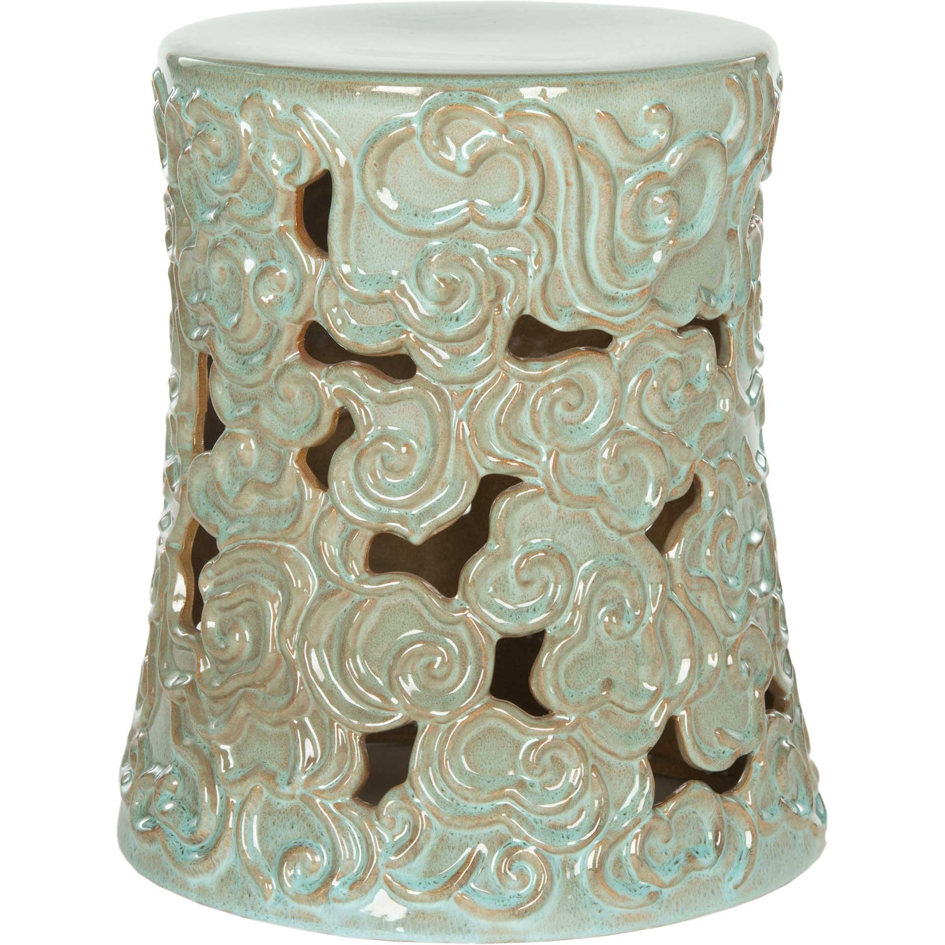 Cloud Garden Stool Light Green