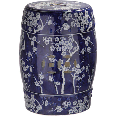 Midnight Kiss Garden Stool