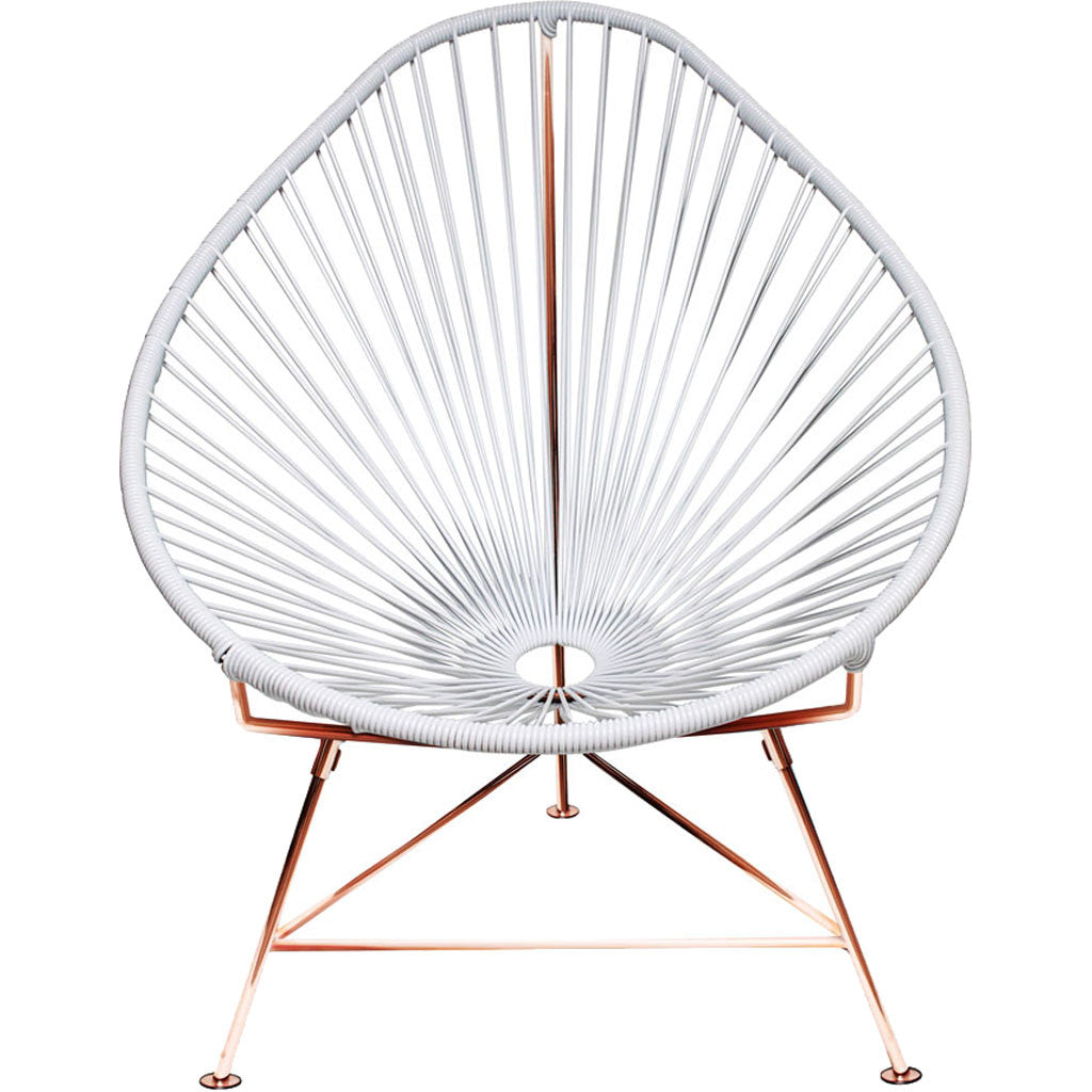 Acapulco Chair White/Copper