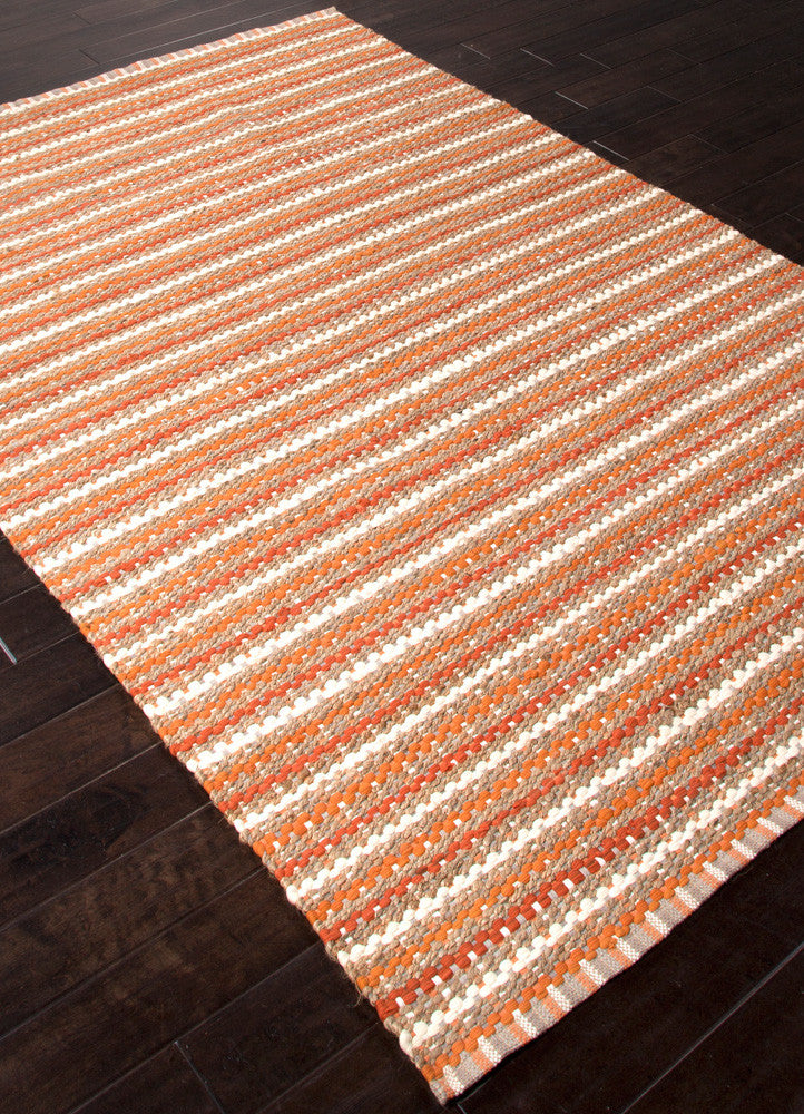 Andes Cornwall Burnt Orange Area Rug