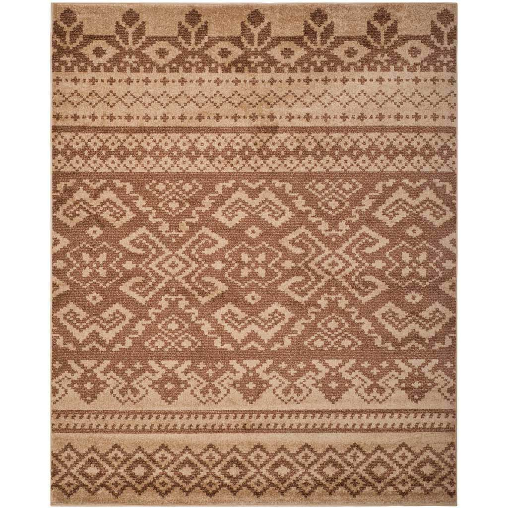 Adirondack Tribal Camel/Chocolate Area Rug