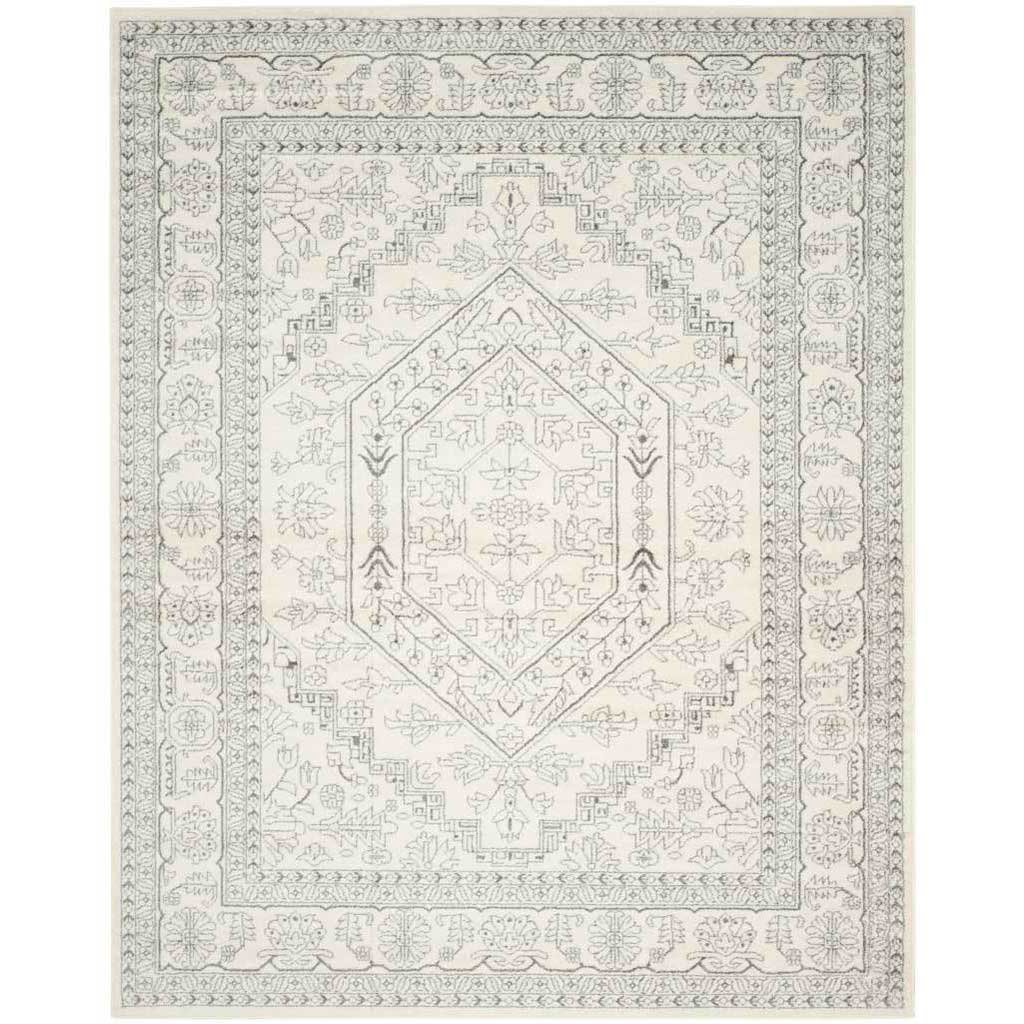 Adirondack Antique Ivory/Silver Area Rug