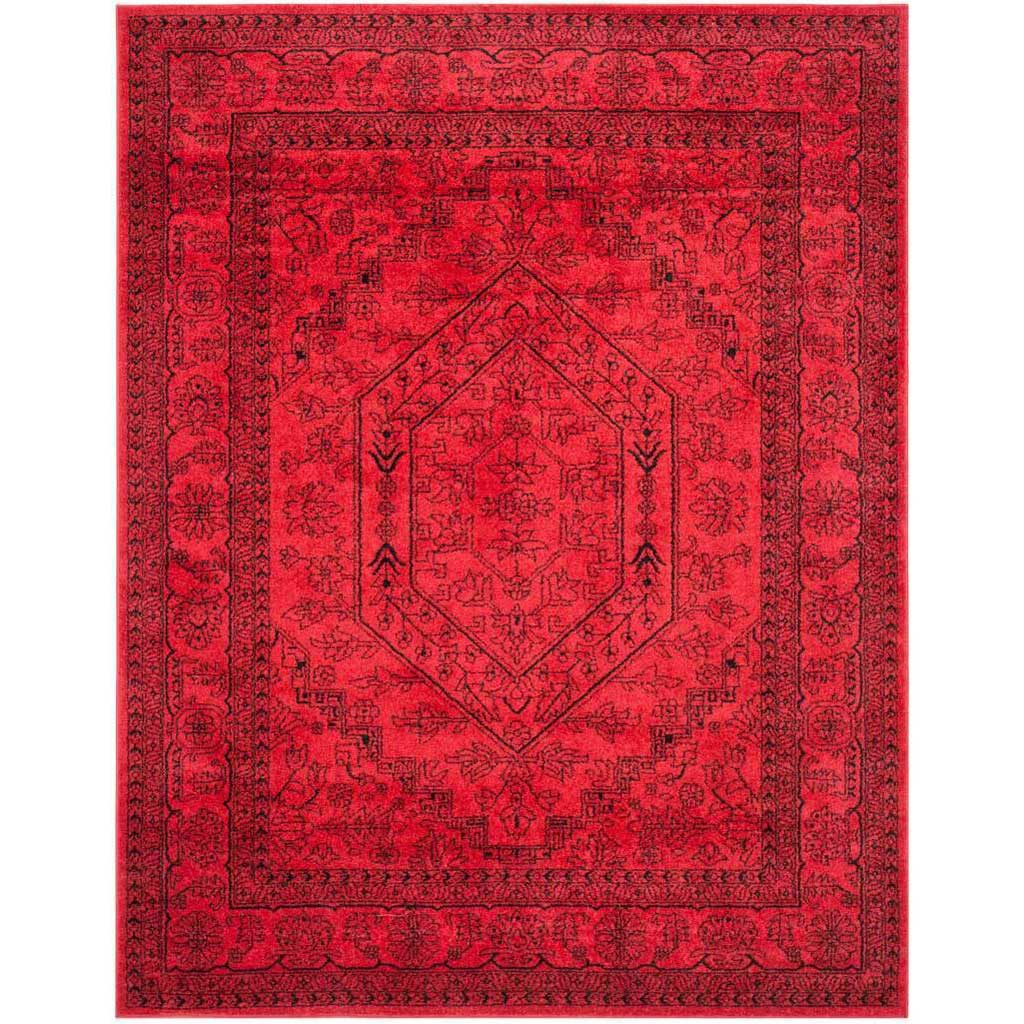 Adirondack Antique Red/Black Area Rug