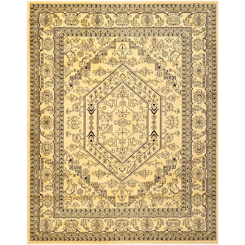 Adirondack Antique Gold/Black Area Rug