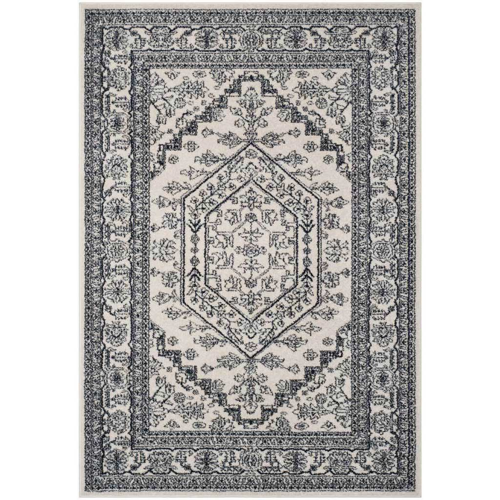 Adirondack Antique Ivory/Navy Area Rug