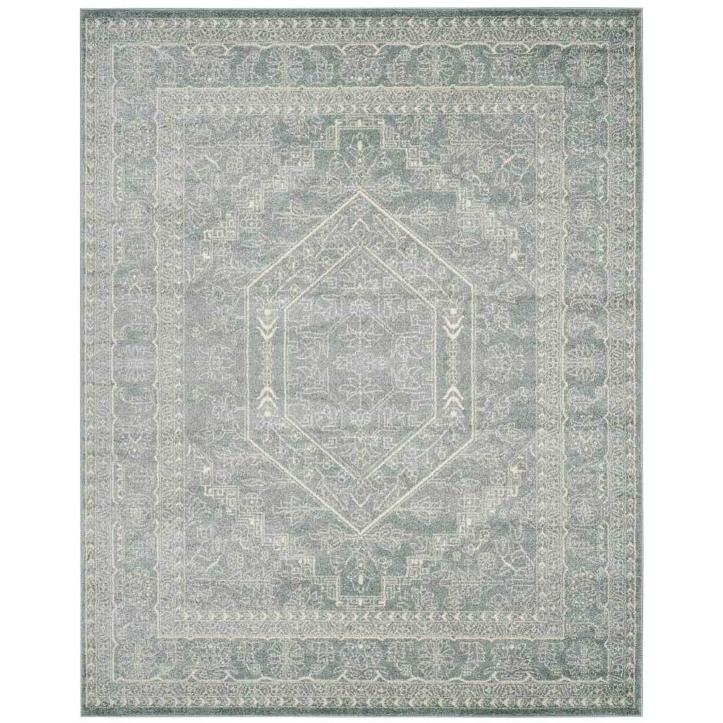 Adirondack Antique Slate/Ivory Area Rug