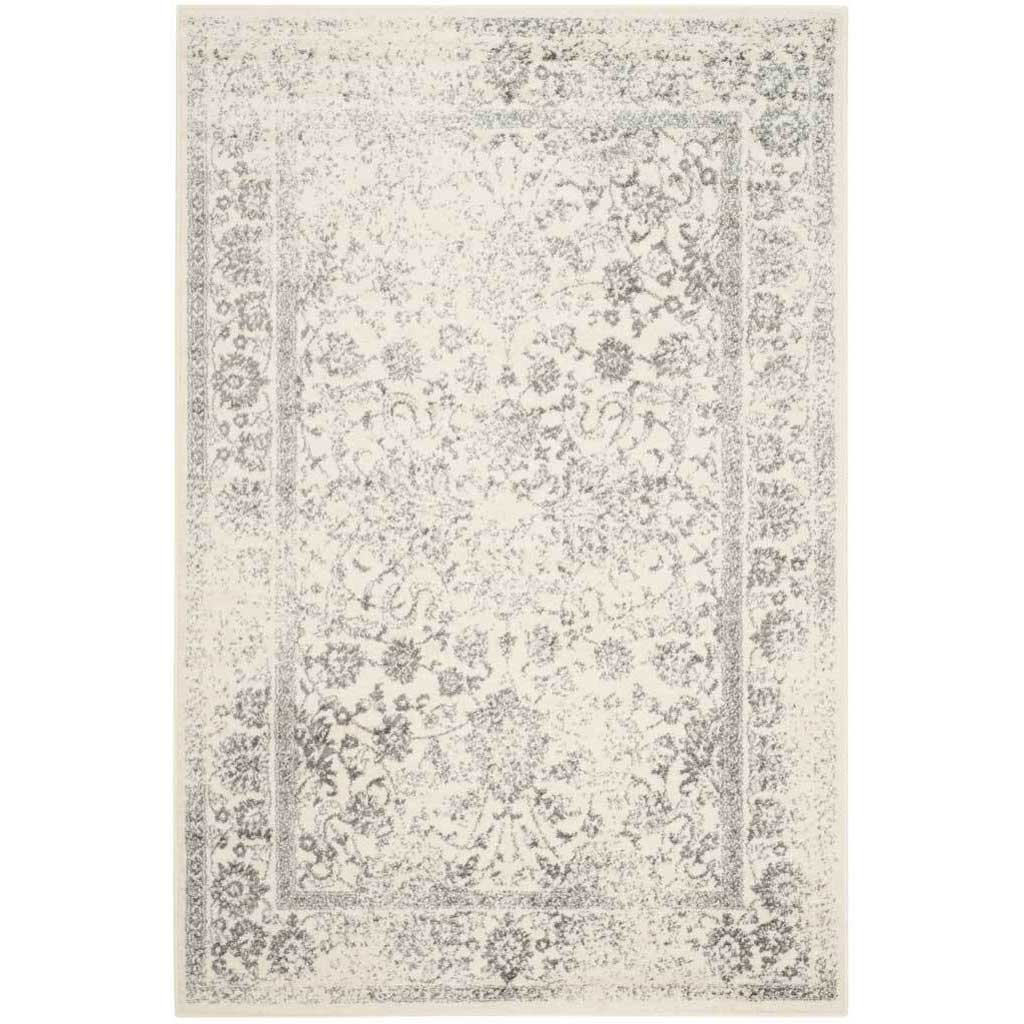 Adirondack Pastoral Ivory/Silver Area Rug