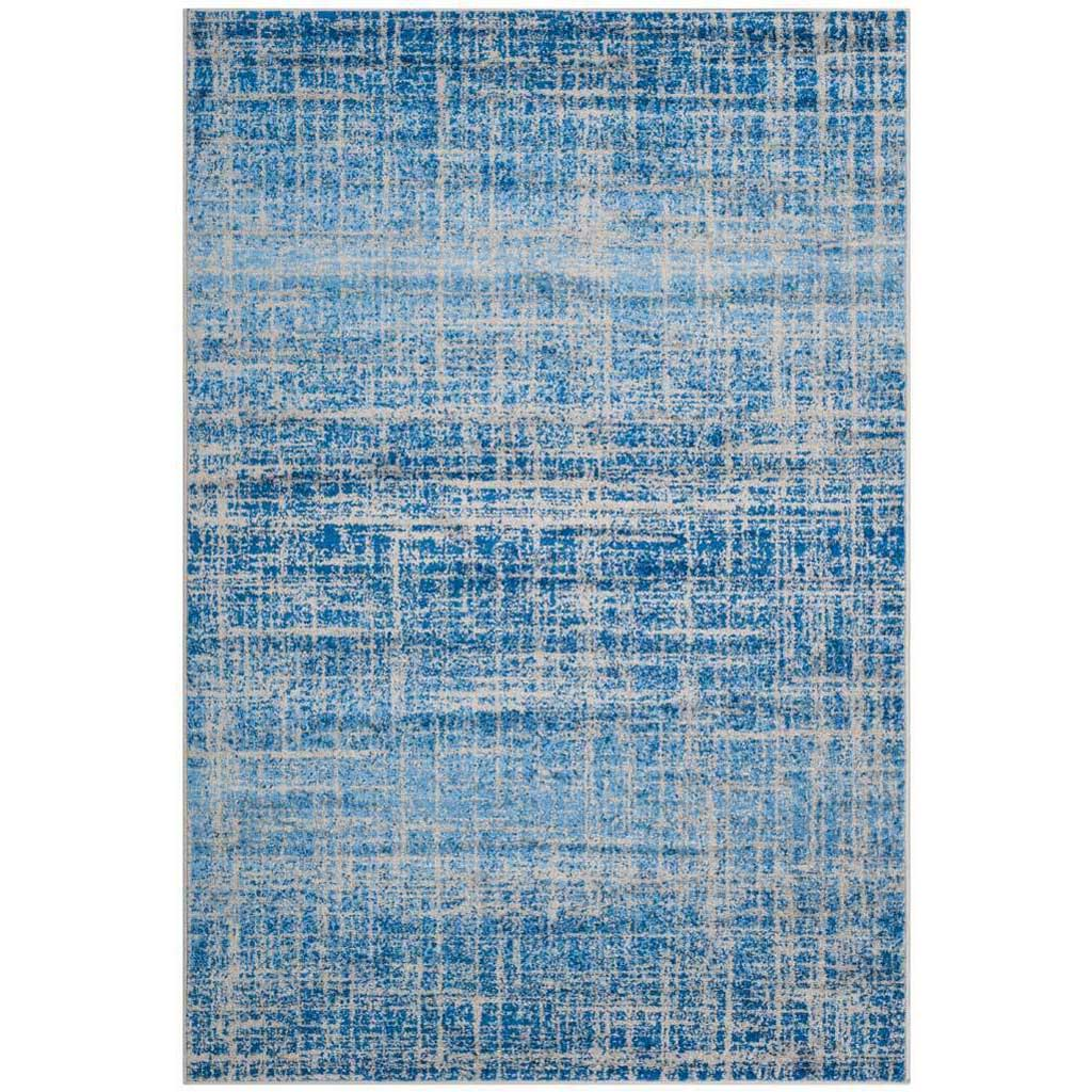 Adirondack Frequency Blue/Silver Area Rug