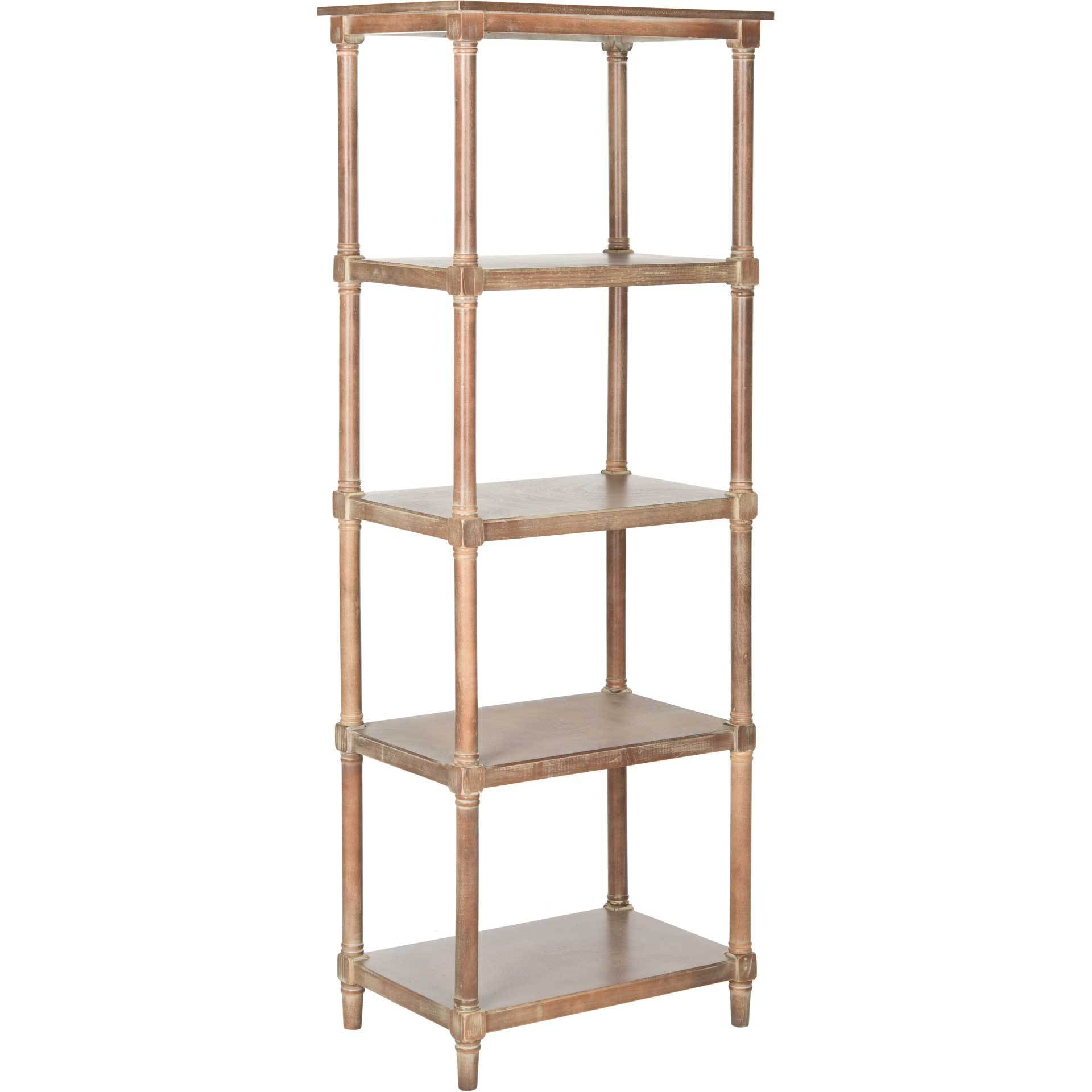 Odelia 5 Tier Bookcase