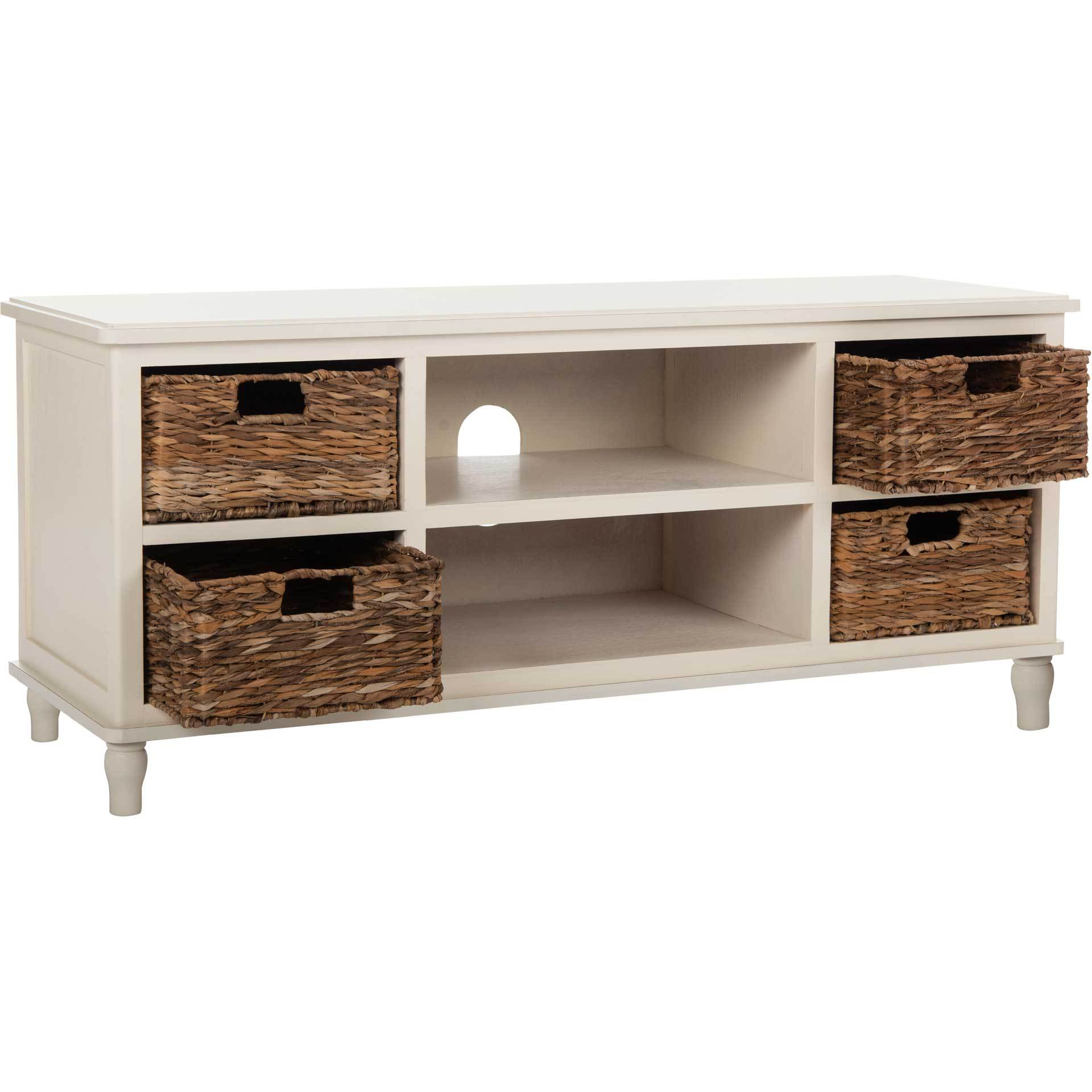 Roland Entertainment Unit Distressed White