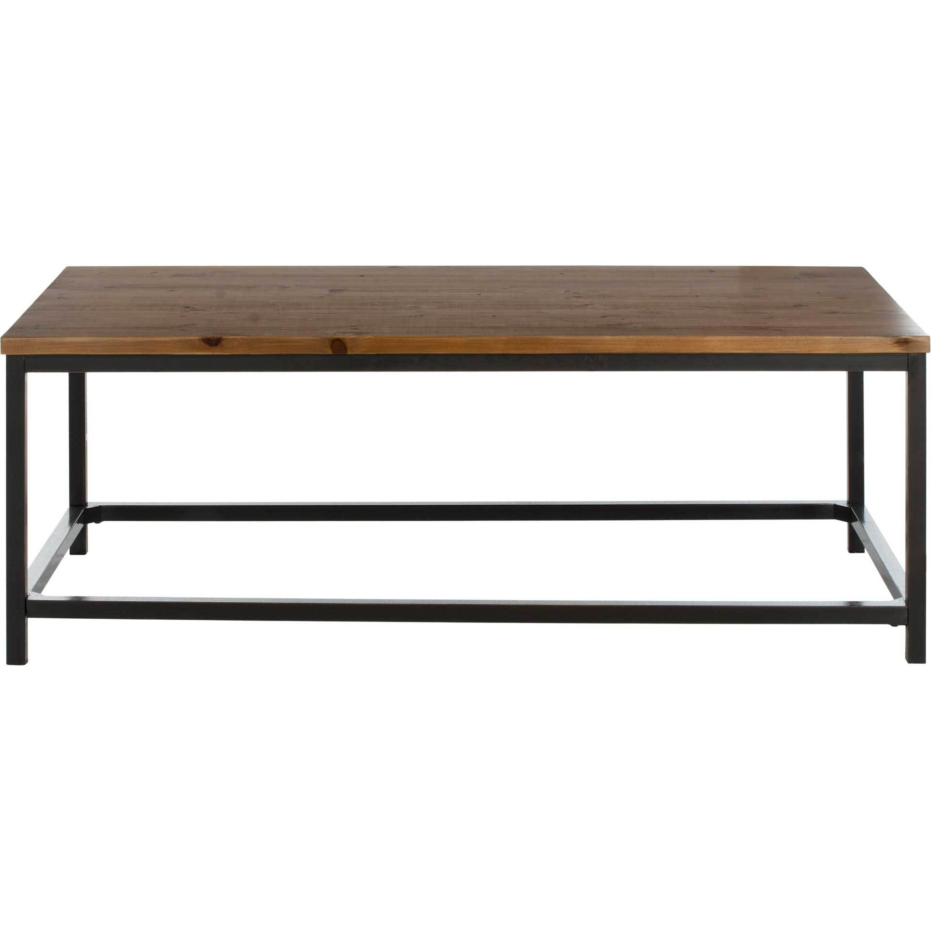 Alex Coffee Table Brown Pine