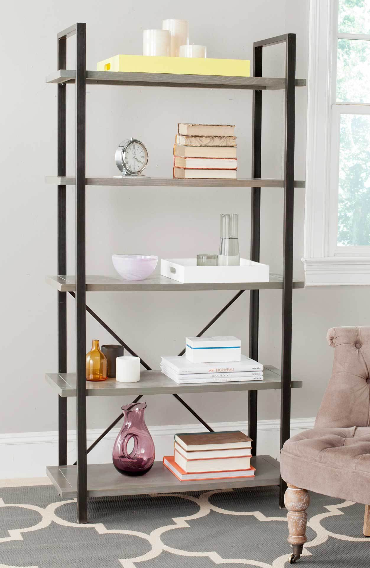 Chanel 5 Tier Etagere French Gray Froy Com