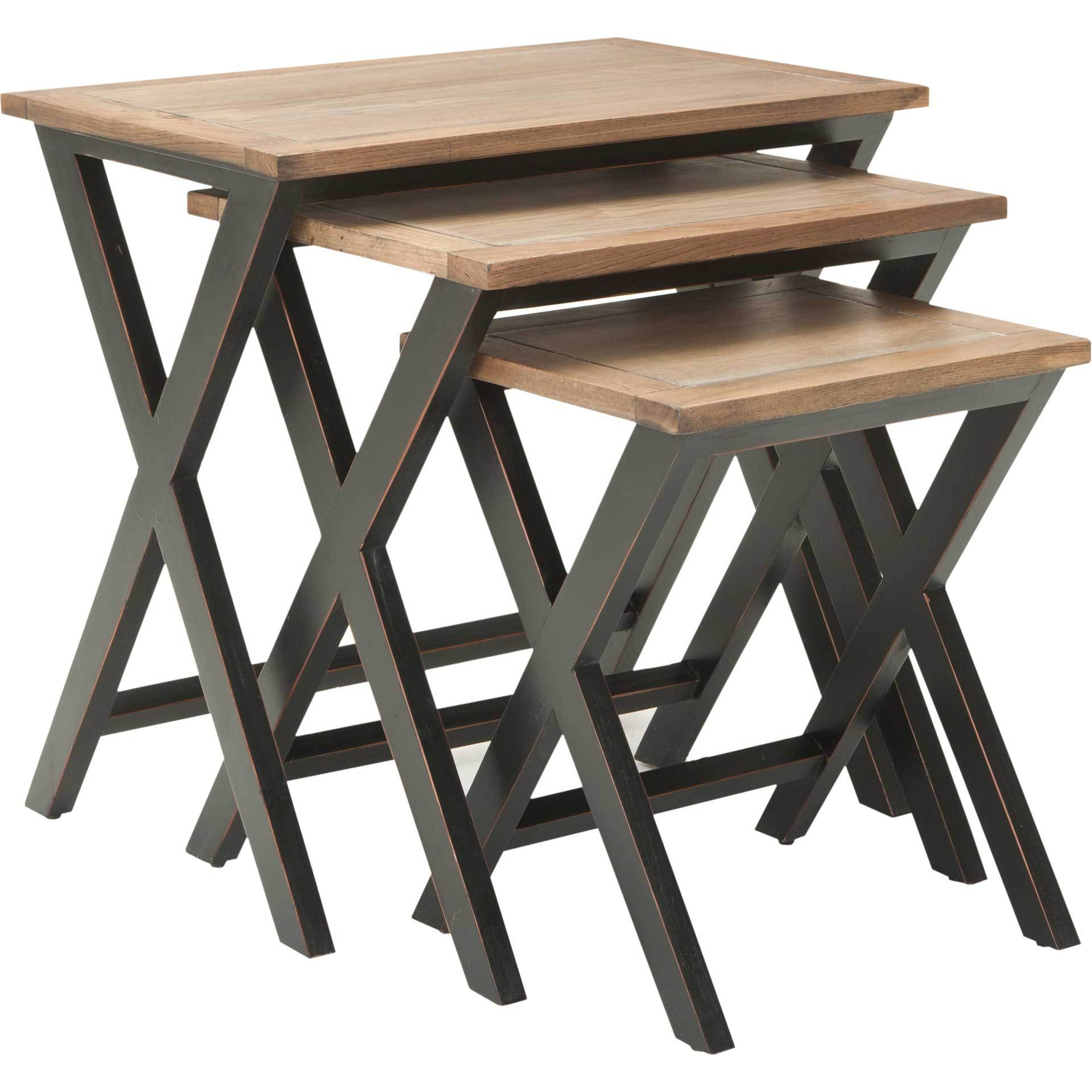 Jaanvi Stacking Tray Tables