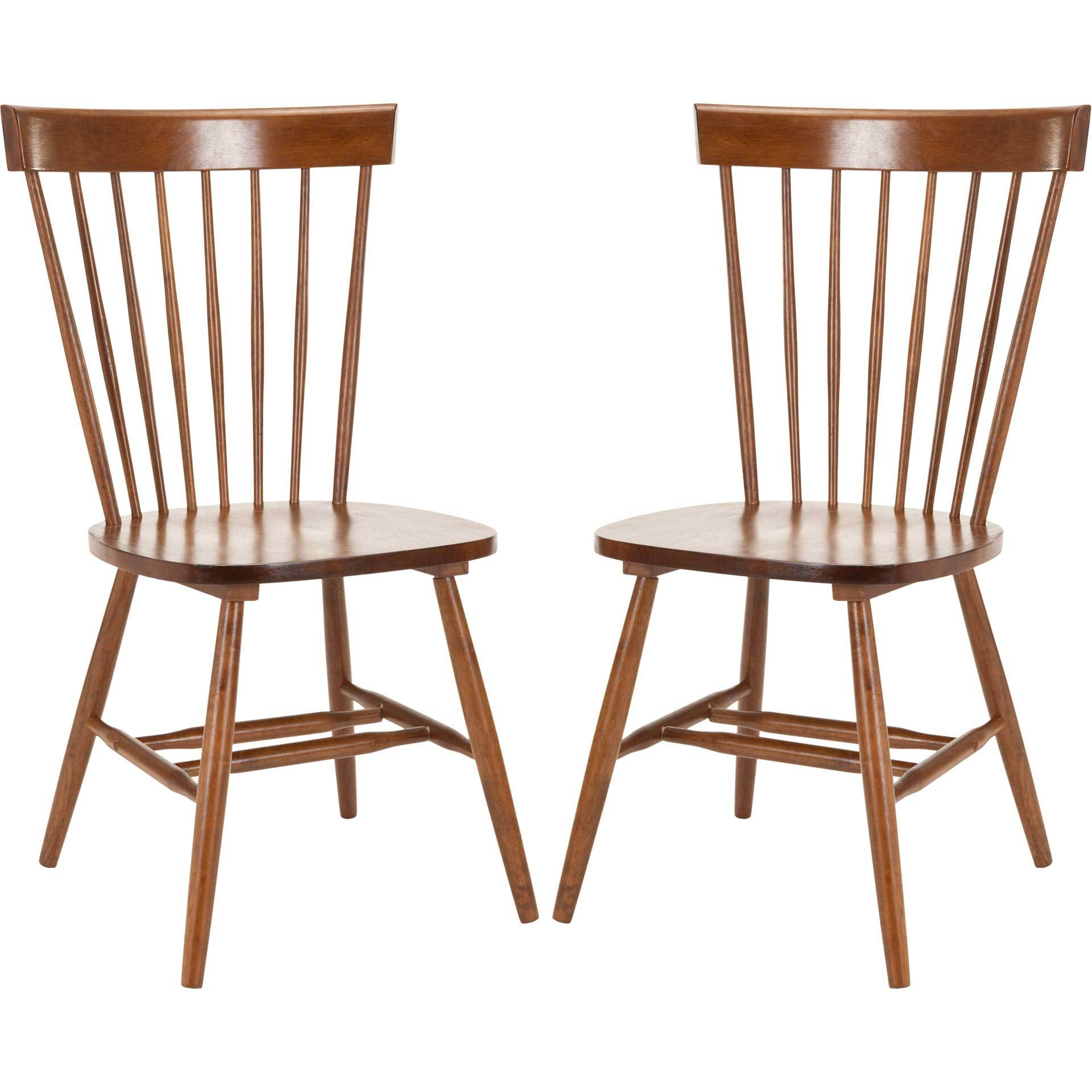 Paula Spindle Dining Chair Natural (Set of 2)