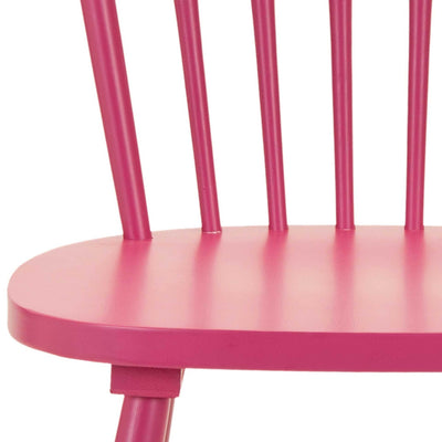 Paula Spindle Dining Chair Raspberry (Set of 2)