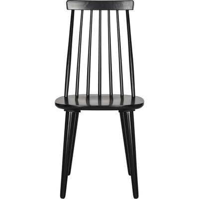 Buckley Spindle Side Chair Black (Set of 2)