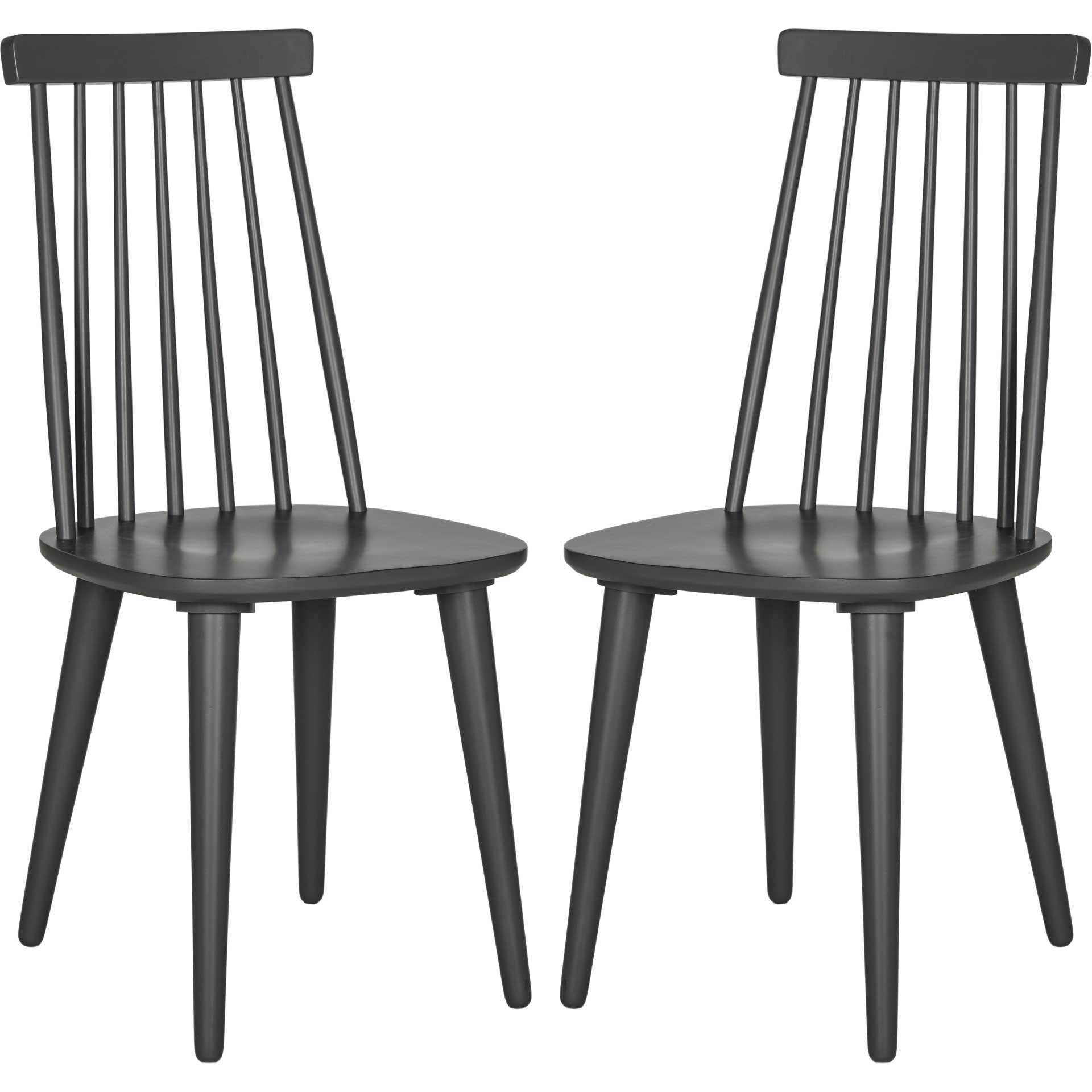 Buckley Spindle Side Chair Gray (Set of 2)