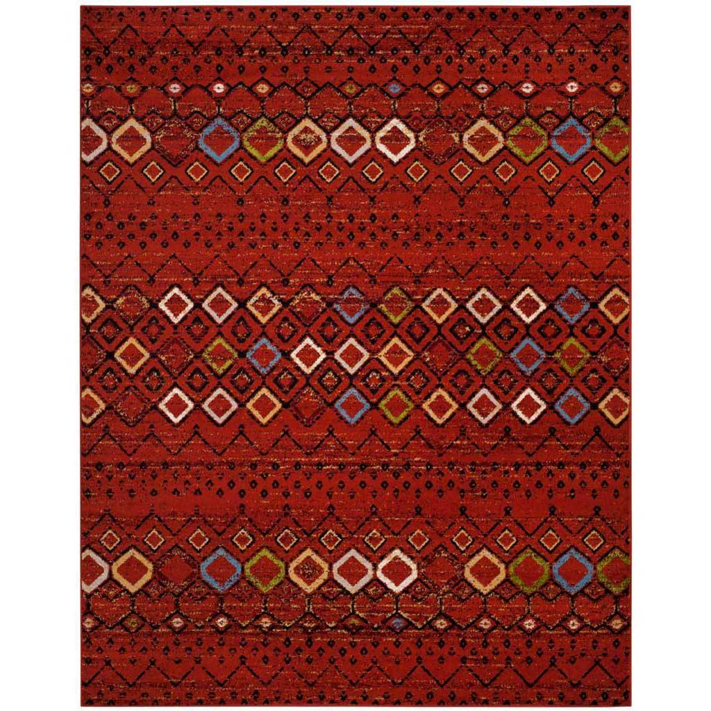 Amsterdam Terracotta/Multi Area Rug