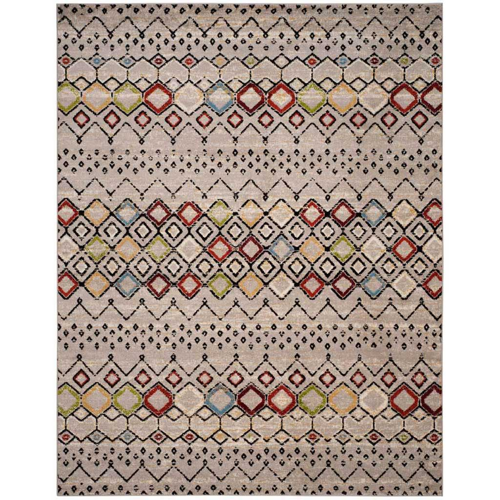 Amsterdam Light Gray/Multi Area Rug