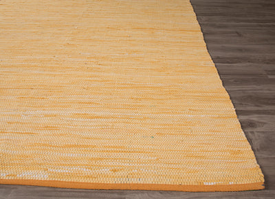 Ann Raggedy Buff Yellow Area Rug