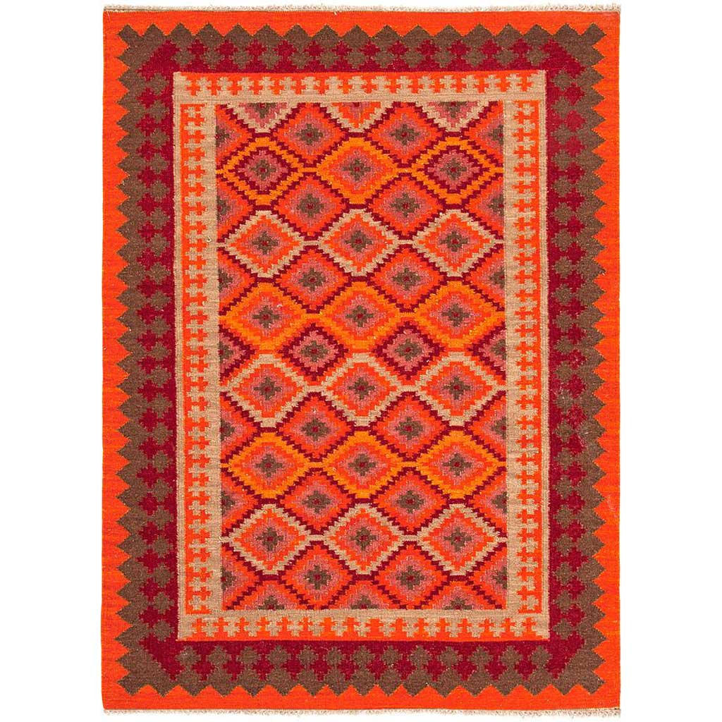 Anatolia Izmir Red/Medium Tabasco Area Rug