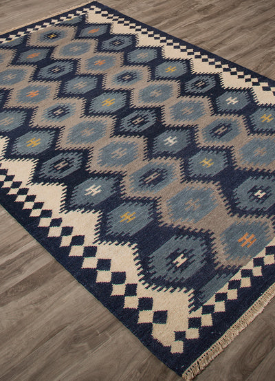 Anatolia Zebulon Patriot Blue/Atmosphere Area Rug