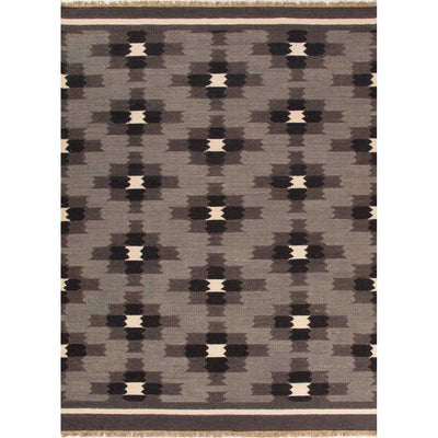 Anatolia Cheffield Gray/Black Area Rug