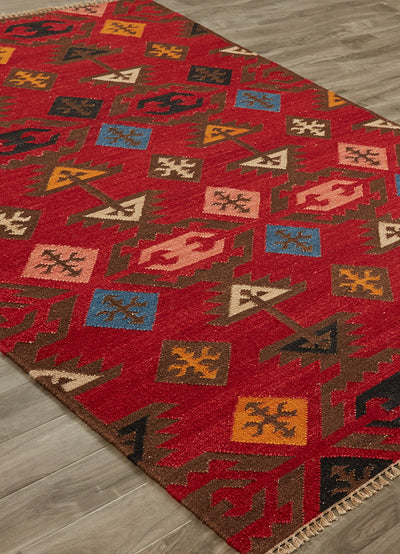 Anatolia Huntington Red/Multi Area Rug