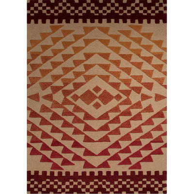 Atlas Plato Pebble/Sudan Brown Area Rug