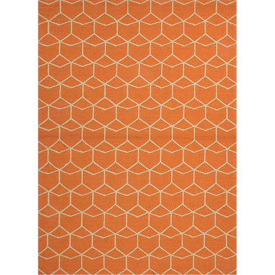 Barcelona Estrellas Red Orange Area Rug