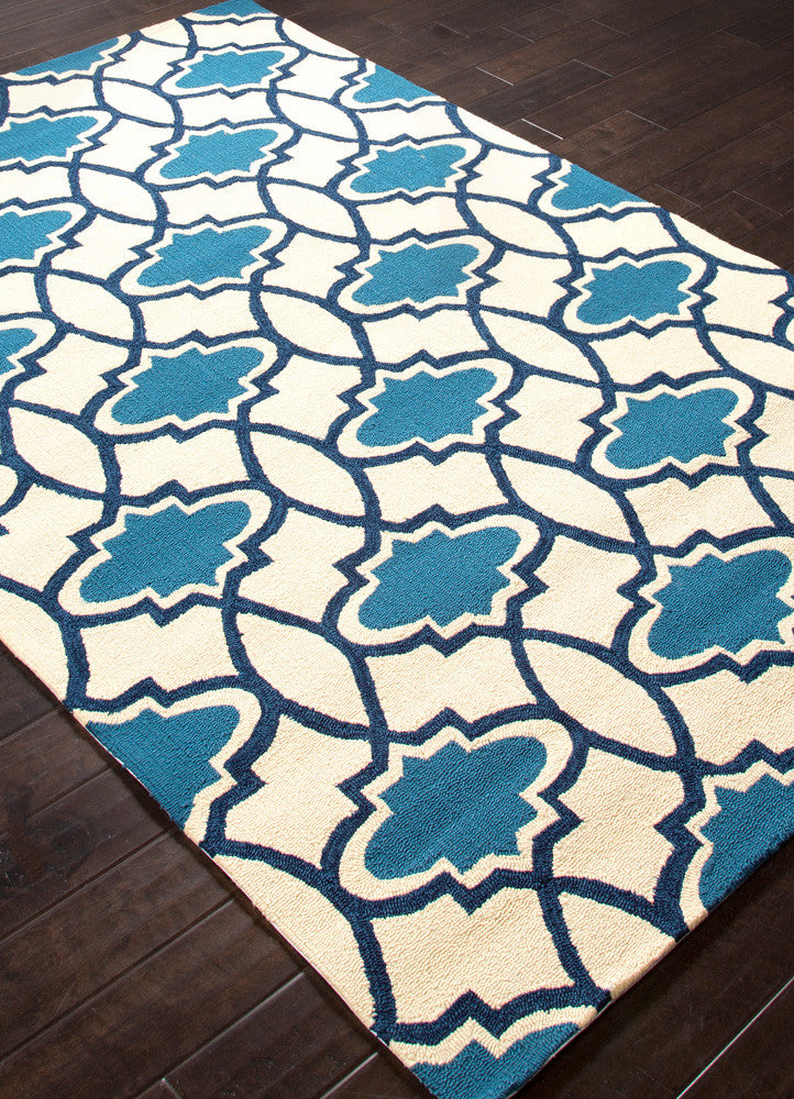 Barcelona Moresque Blue Area Rug