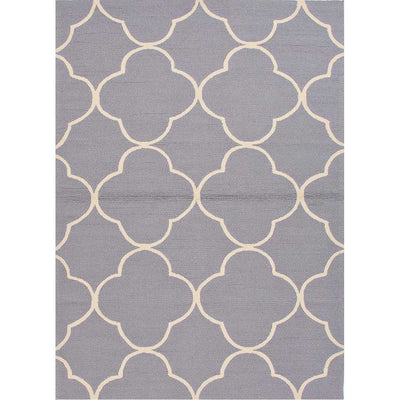 Barcelona Sparten Light Gray/White Area Rug