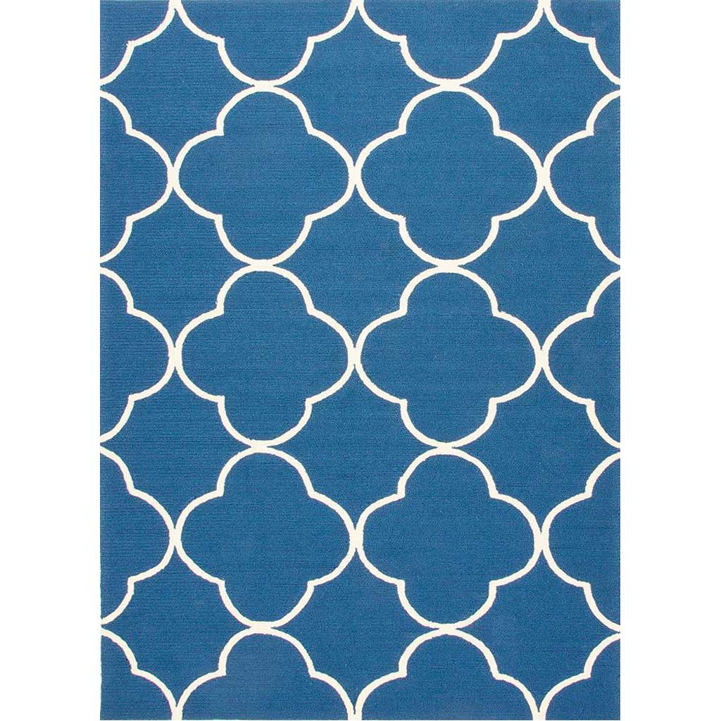 Barcelona Sparten Blue/White Area Rug