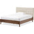 Alan Platform Bed Beige