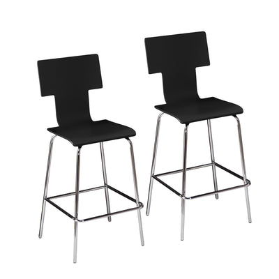 Tebrack Barstool Black (Set of 2)