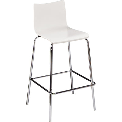 Blence Barstool White (Set of 2)