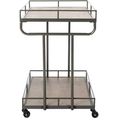 Damari 2 Tier Rectangle Bar Cart