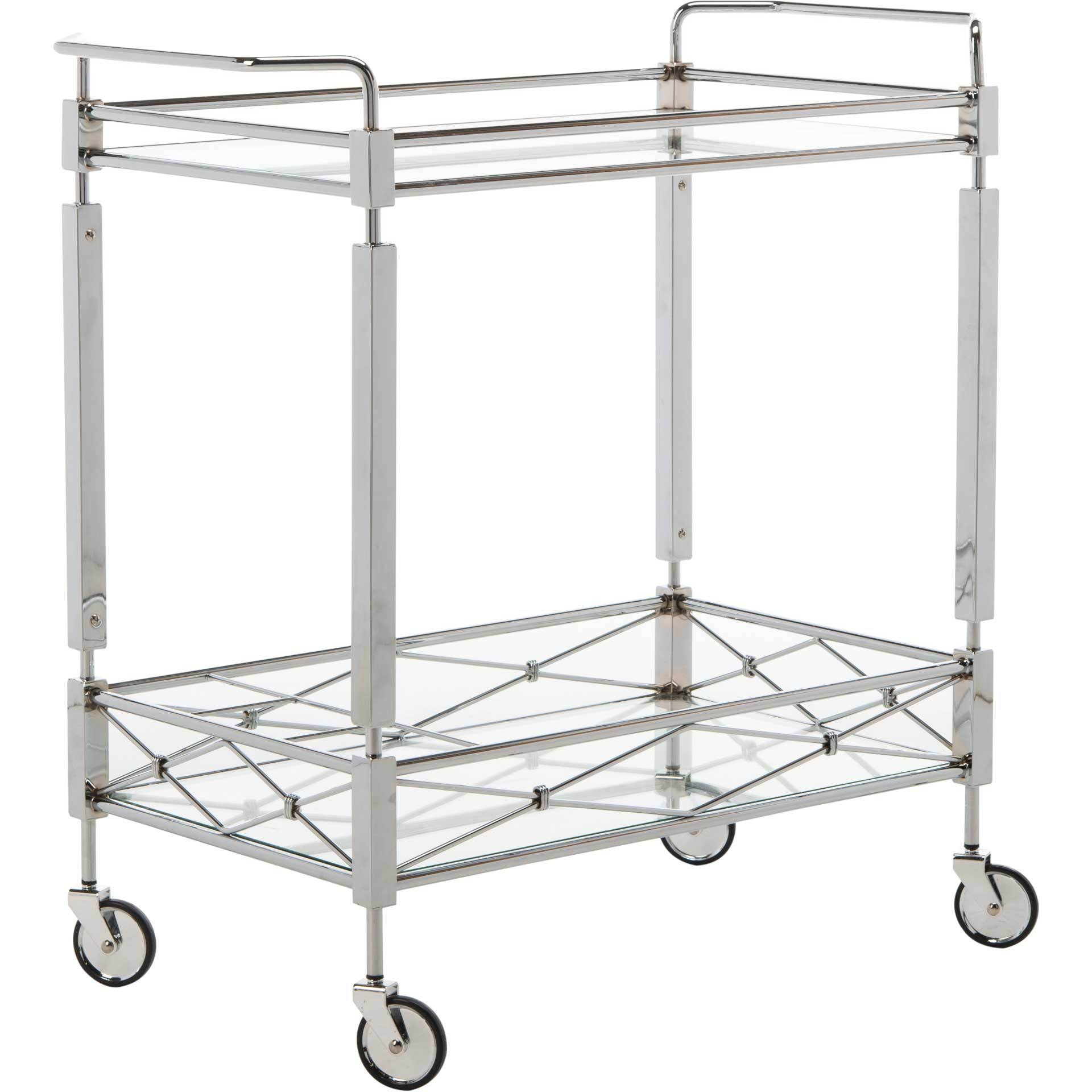 Inca 2 Tier Rectangle Bar Cart