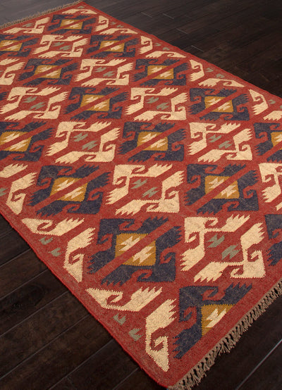 Bedouin Zafer Red Area Rug
