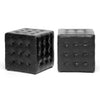 Zwolle Ottoman Black (Set of 2)