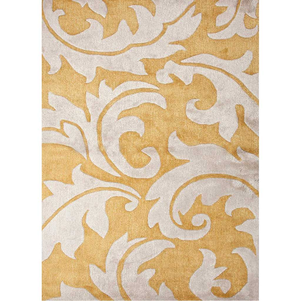 Blue Aloha Golden Apricot/Antique White Area Rug