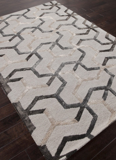 Blue Addy Antique White Area Rug
