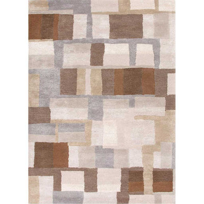 Blue Adell Classic Gray/Gray Brown Area Rug