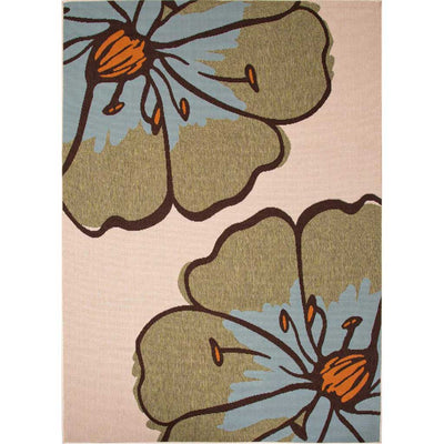 Bloom Porch Birch/Sage Area Rug