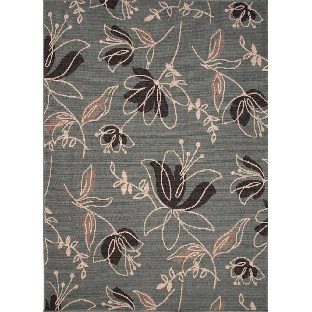 Bloom Spring Blue Surf/Birch Area Rug