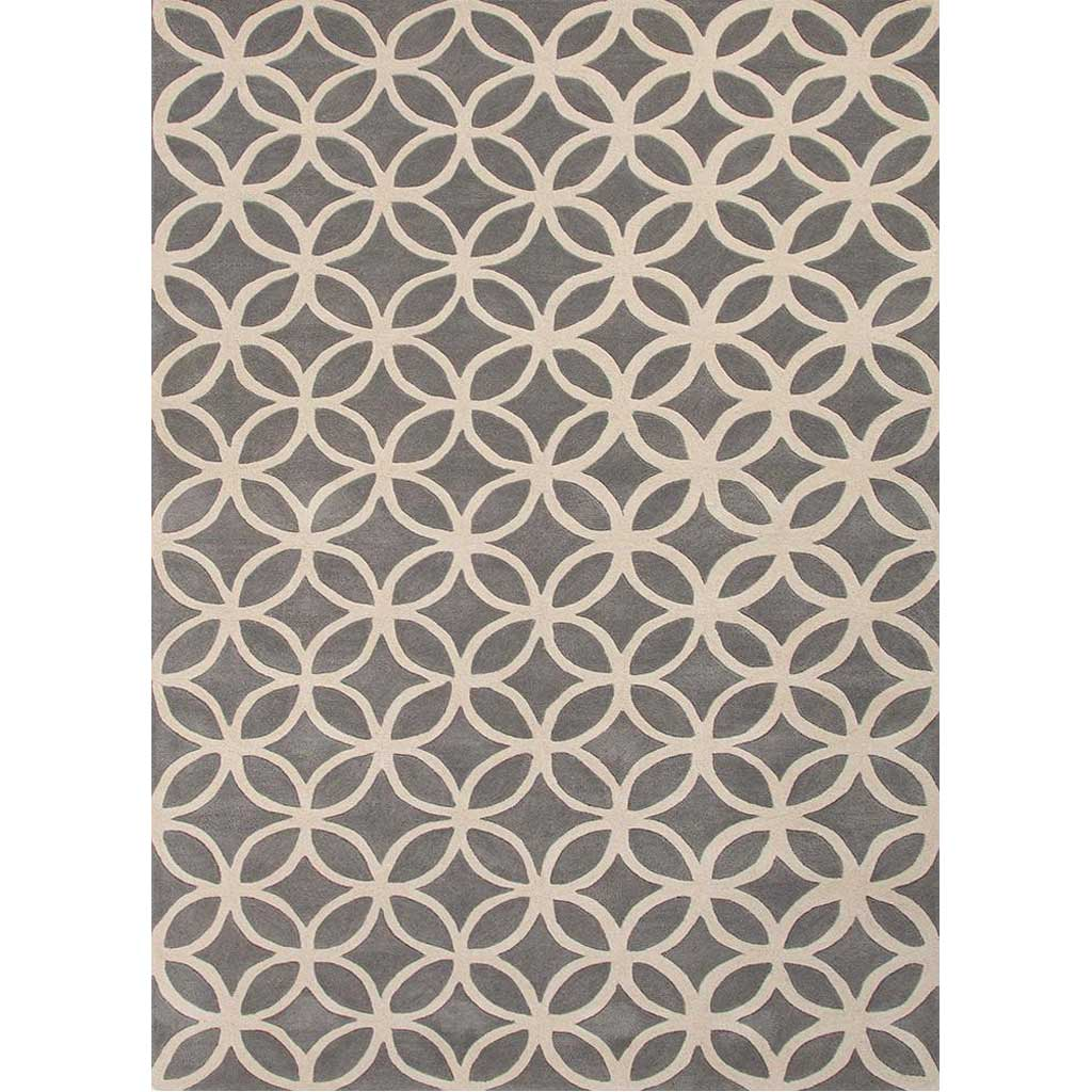 Blithe Latticework Gold/Gray Area Rug